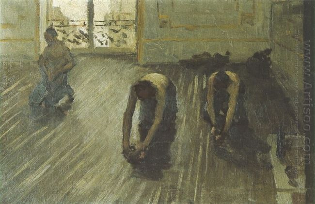 Study For The Parquet Planers 1875