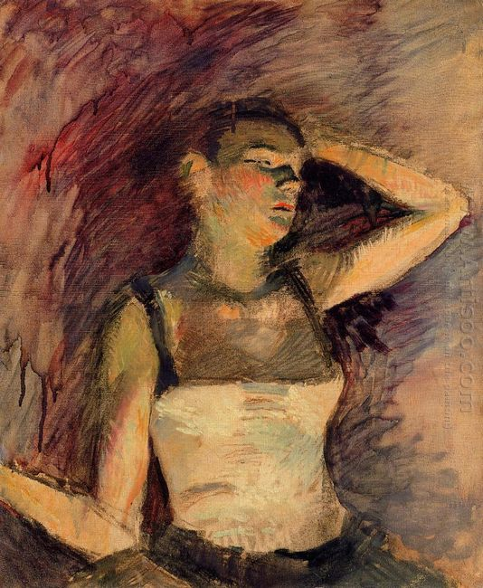 Study Of A Dancer 1888
