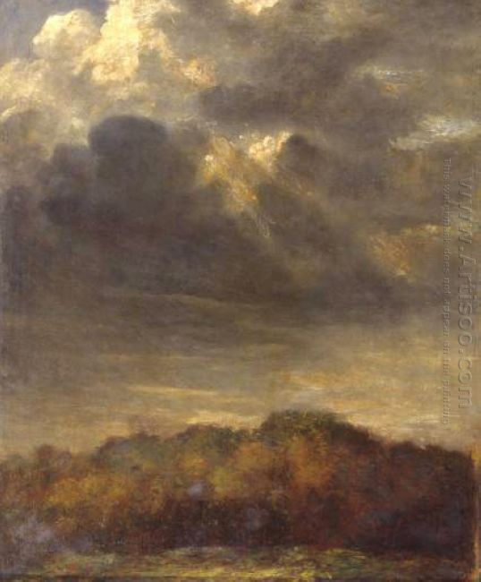 Study Of Clouds 1900