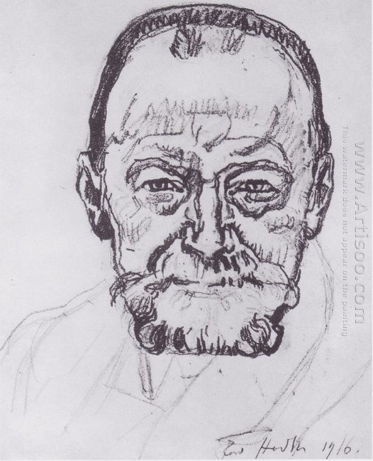 Study Of Self Portrait 1916