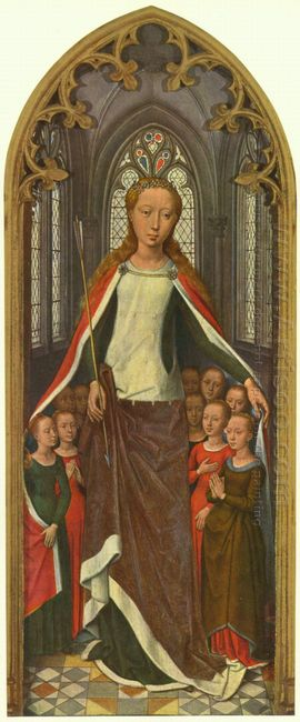 St Ursula And Her Companions From The Reliquary Of St Ursula 148