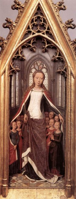 St Ursula And The Holy Virgins From The Reliquary Of St Ursula 1