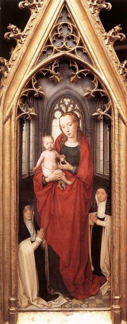 St Ursula Shrine Virgin And Child 1489