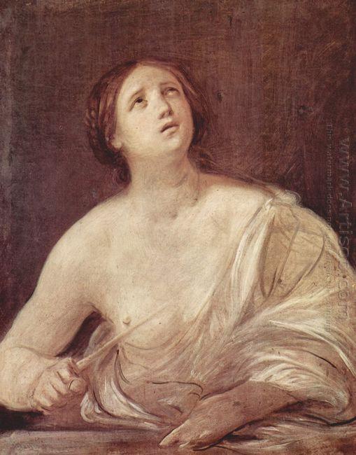 Suicide Of Lucretia 1642