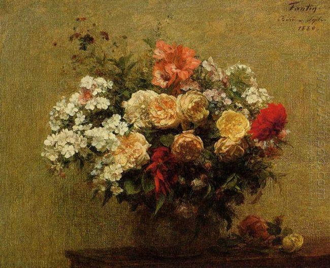 Summer Flowers 1880