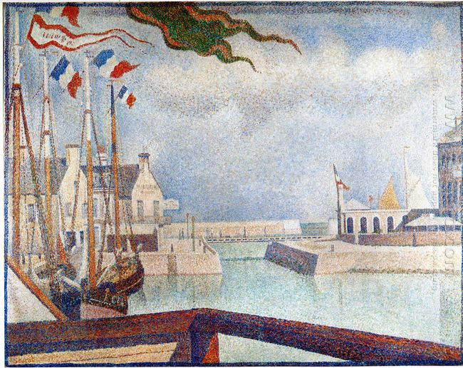 Sunday At Port En Bessin 1888