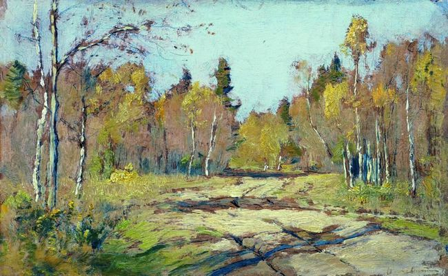 Sunny Autumn Day 1897