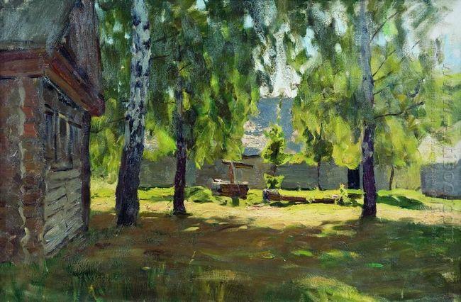 Sunny Day Near The Isba 1899
