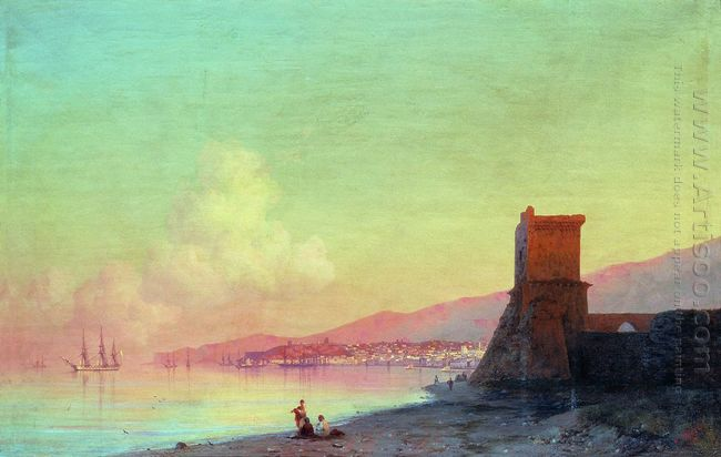 Sunrise In Feodosia 1852
