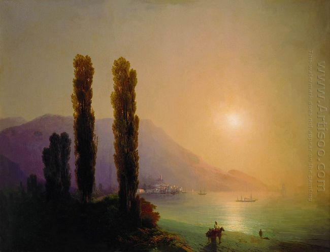 Sunrise On The Coast Of Yalta