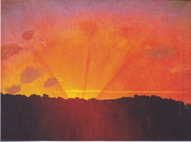 Sunset 1910
