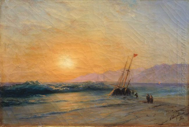 Sunset At Sea 1898