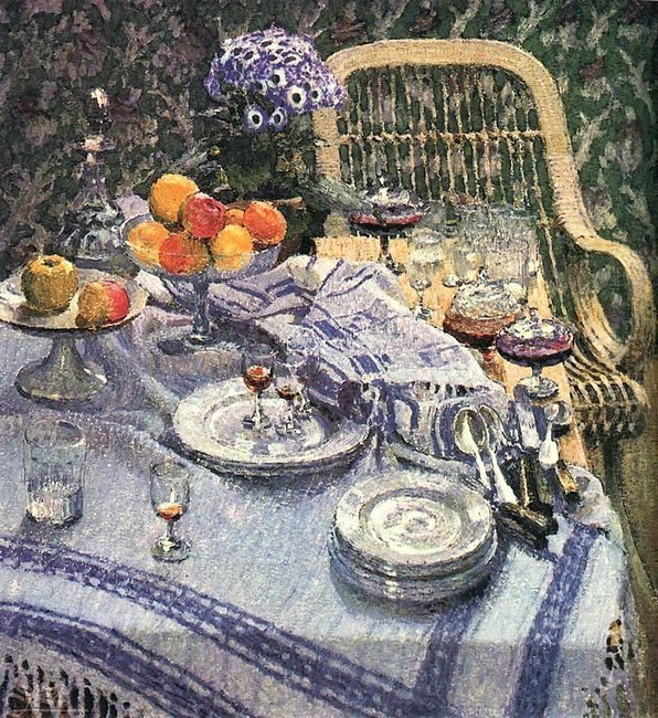 Table With Leftovers 1907