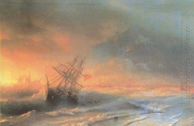 Tempest Above Evpatoriya 1861
