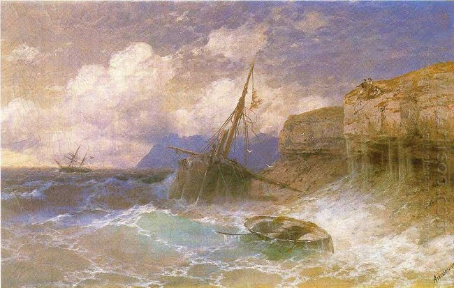 Tempest By Coast Of Odessa 1898