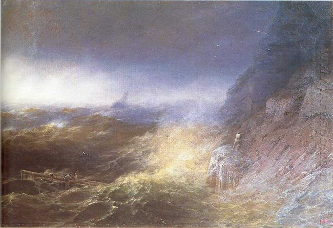 Tempest On The Black Sea 1875
