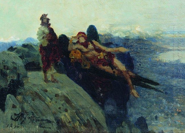 Temptation Of Christ 1896