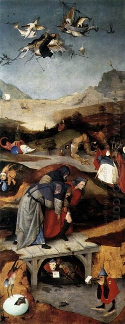 Temptation Of St Anthony 1506