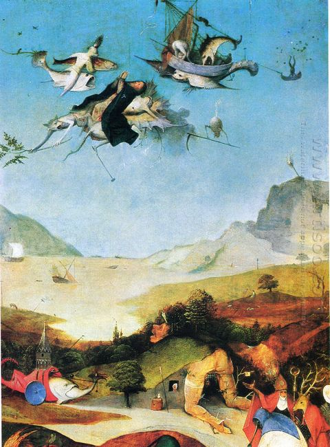Temptation Of St Anthony 1