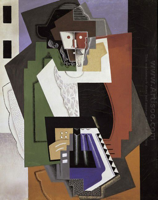 The Accordion Player 1919