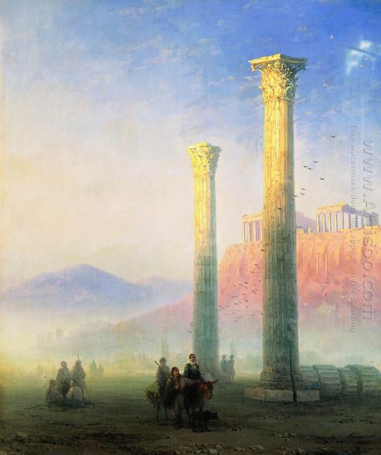 The Acropolis Of Athens 1883