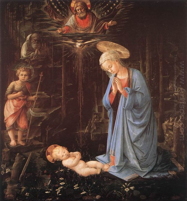 The Adoration Of The Infant Jesus 1459