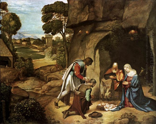 The Adoration Of The Shepherds 1510