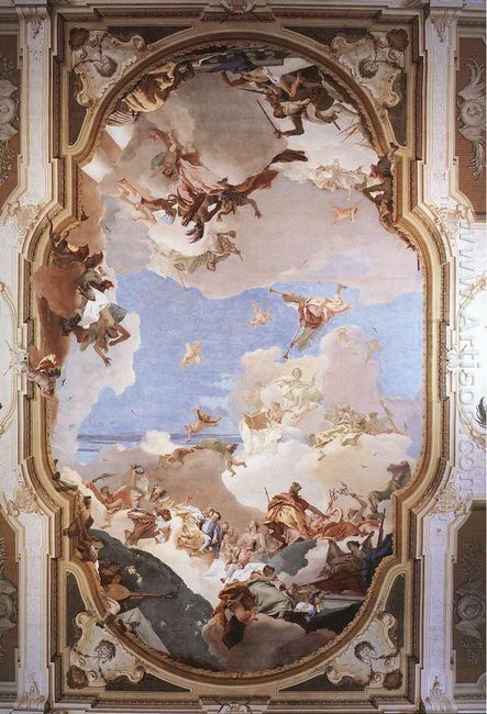 The Apotheosis Of The Pisani Family 1762