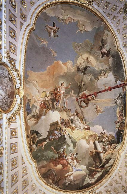 The Apotheosis Of The Spanish Monarchy 1766
