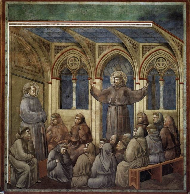 The Apparition At The Chapter House At Arles 1300