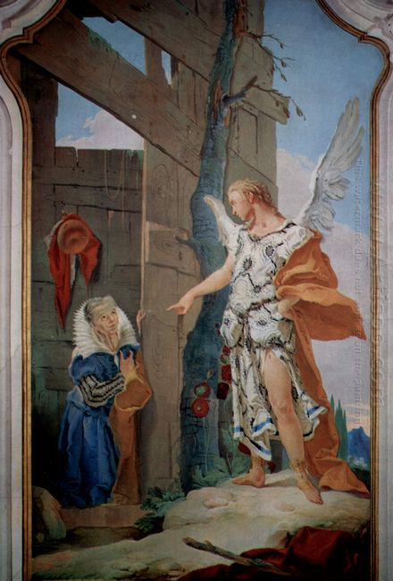 The Appearance Of The Angel Before Sarah 1728