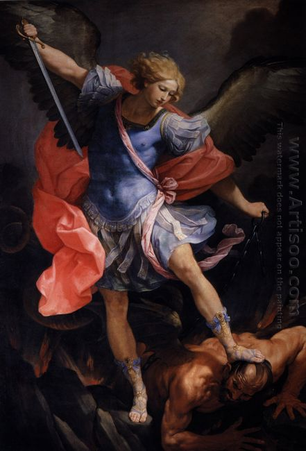 The Archangel Michael Defeating Satan 1635