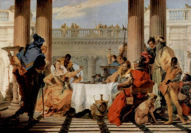 The Banquet Of Cleopatra 1744