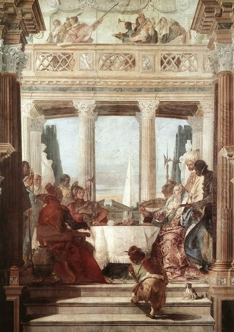 The Banquet Of Cleopatra 1747