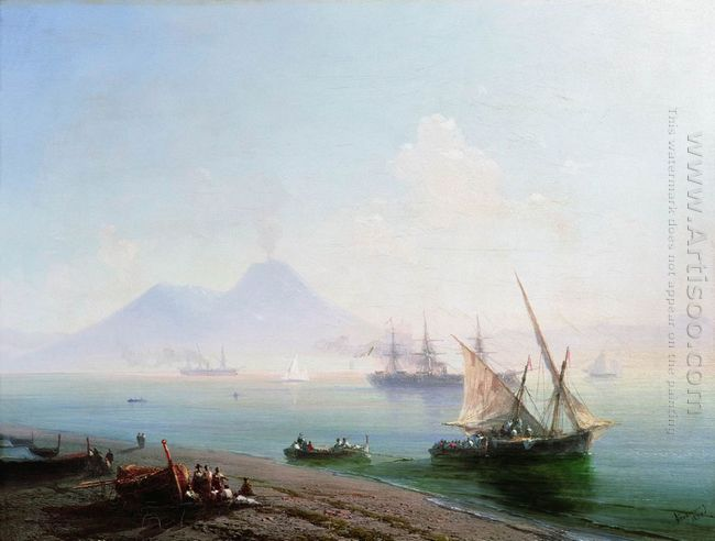 The Bay Of Naples In The Morning 1877