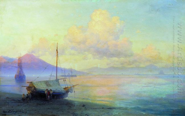 The Bay Of Naples In The Morning 1893