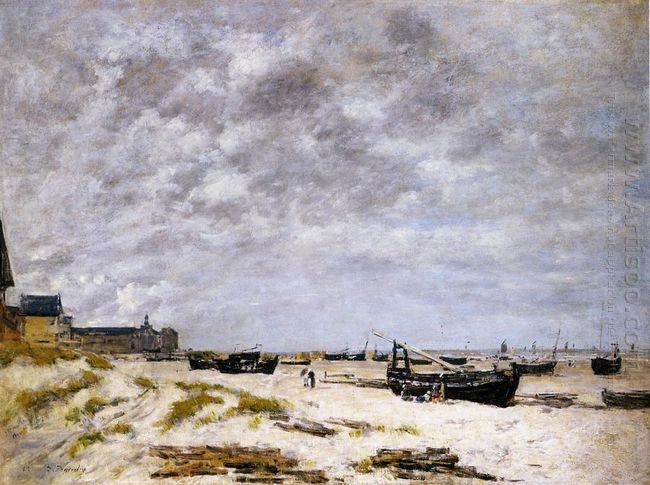 The Beach Berck 1882