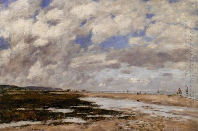 The Beach Deauville 1893