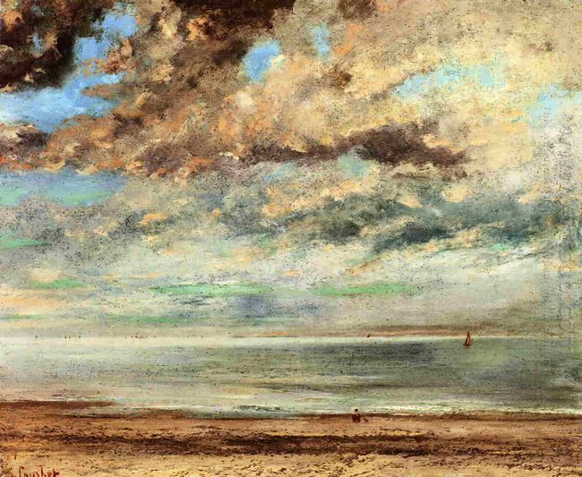 The Beach Sunset 1867