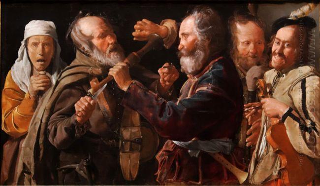 The Beggars Brawl 1620