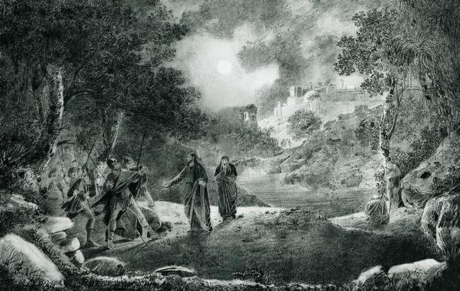 The Betrayal Of Judas 1834