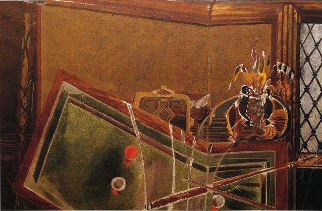 The Billiard Table 1944