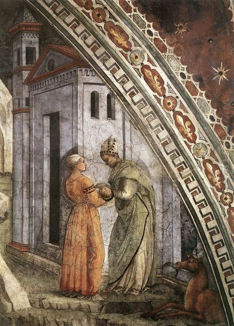 The Birth And Infancy Of St Stephen Detail 1