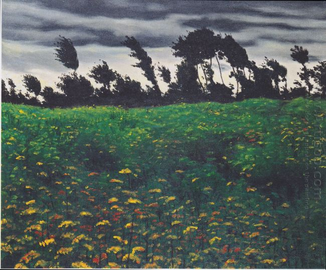 The Blossoming Field 1912