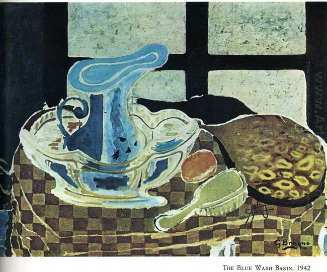 The Blue Washbasin 1942