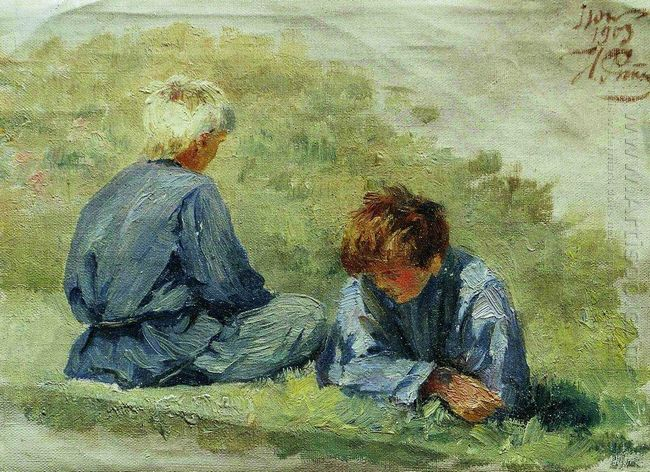 The Boys On The Grass 1903