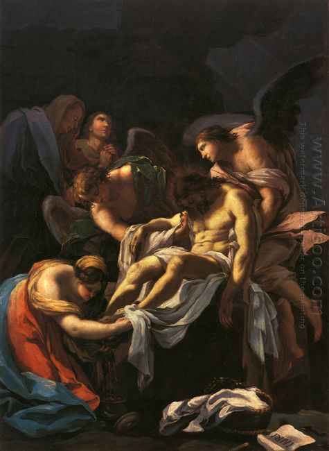 The Burial Of Christ 1772