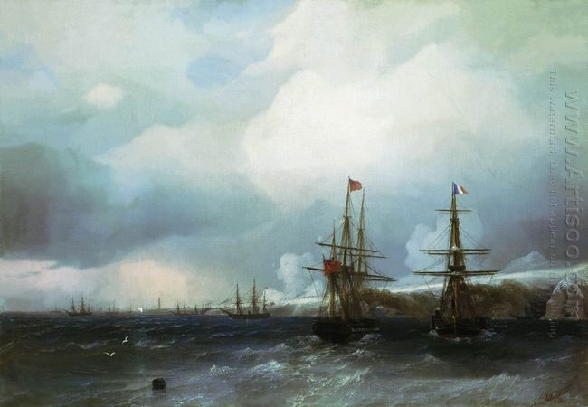 The Capture Of Sebastopol 1855