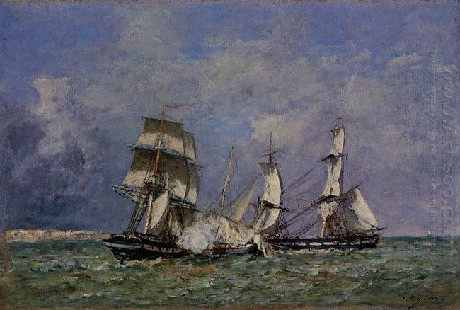 The Capture Of The Petit Rodeur 1878