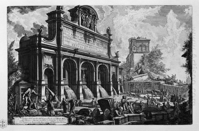 The Castle Of The Acqua Felice
